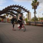 A bike route around Barcelona