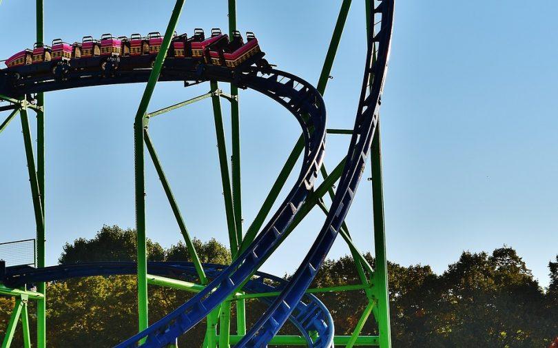 A Day At The Tibidabo Amusement Park