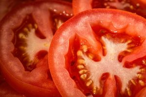 close-up of tomato