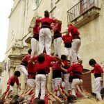 The castellers, a Catalan tradition