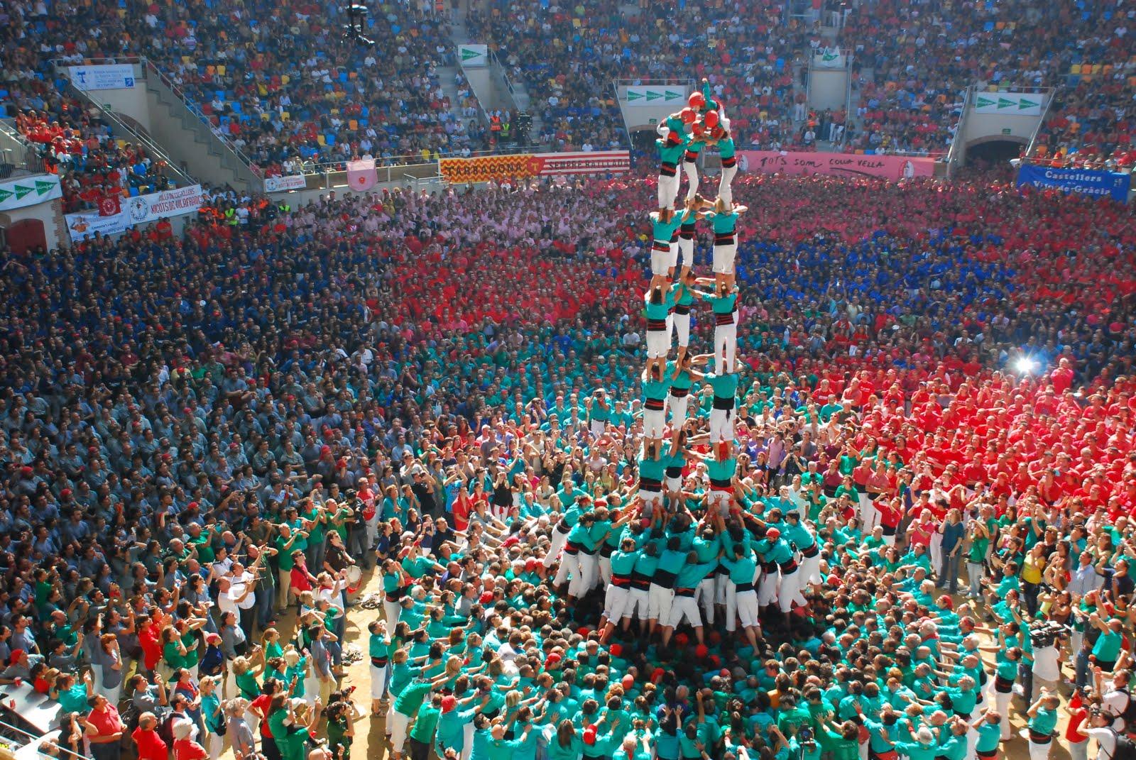 Resultado de imagem para castellers barcelona