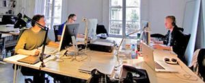Espace de coworking à Barcelone