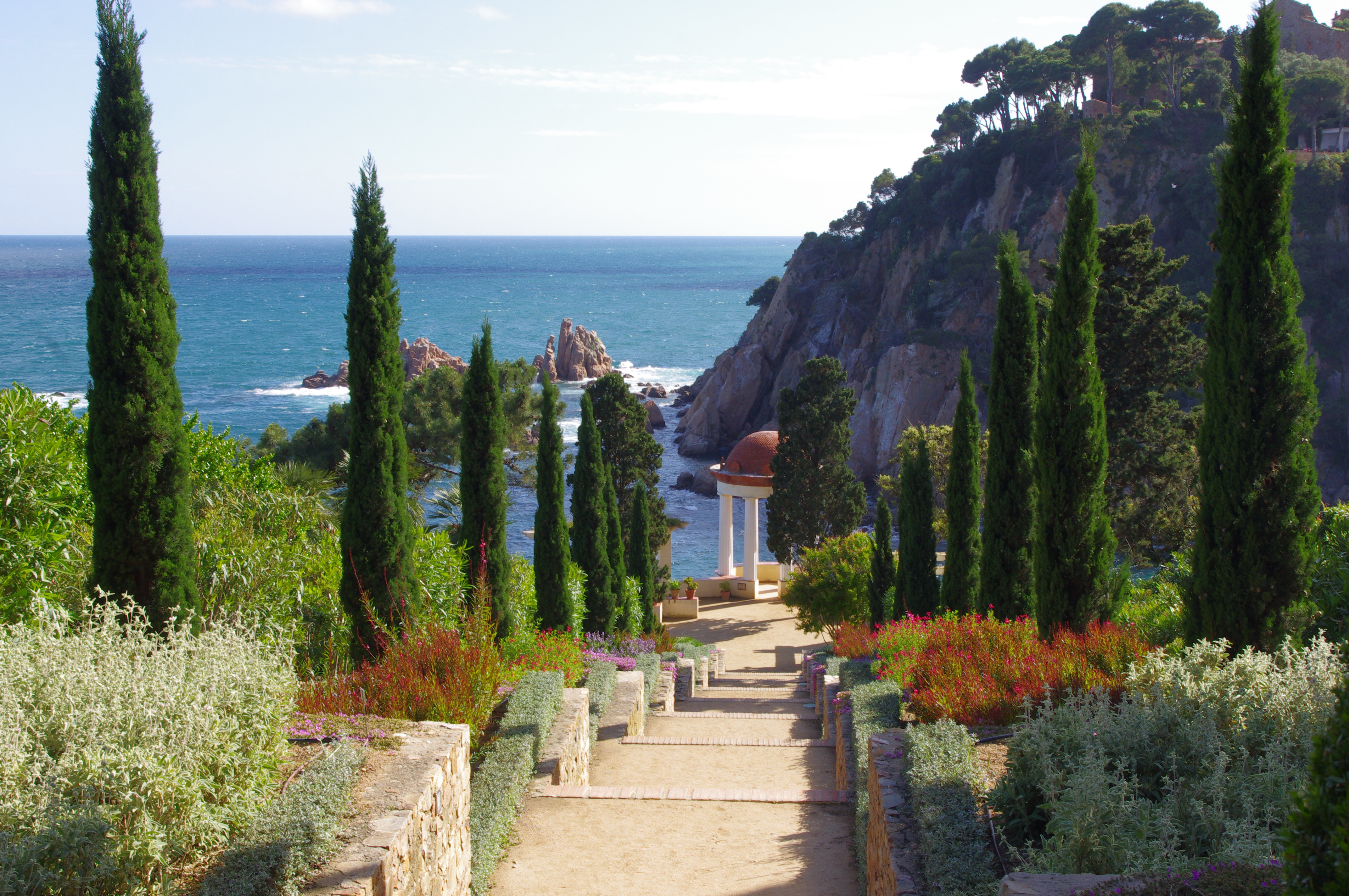 a one day trip near barcelona marimurtra botanical garden