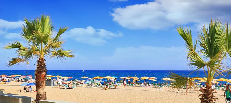 beach barcelona