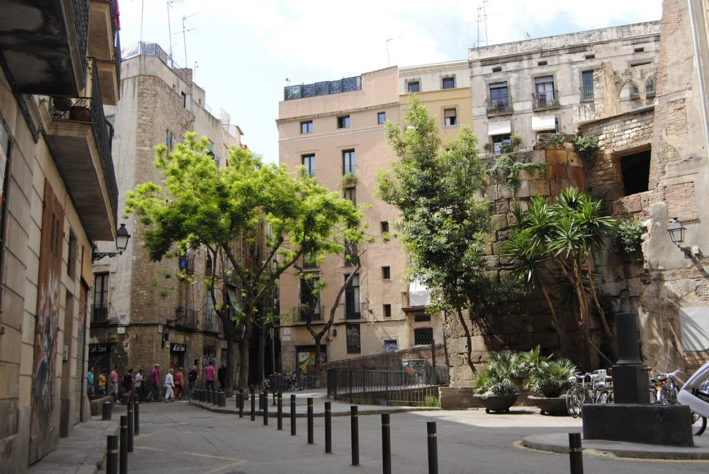 gothic quarters in barcelona