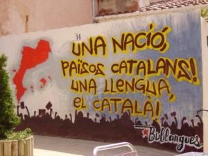 граффити на каталонском языке