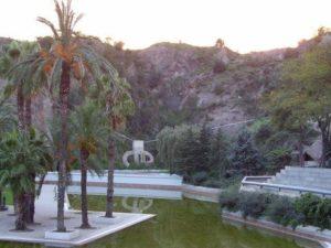 water in Creueta Park Croll barcelona