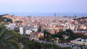 The breath-taking views from Tibidabo