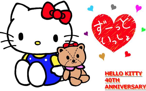 Hello Kitty Celebration In Barcelona