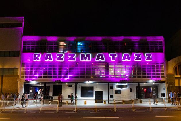 The Razzmatazz nightclub in Barcelona