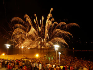 St Jordi Fireworks
