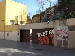 air raid shelter barcelona