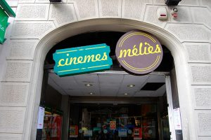 entrance of cinemes Melies