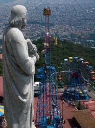 The amusement park at Tibidabo - perfect for kids