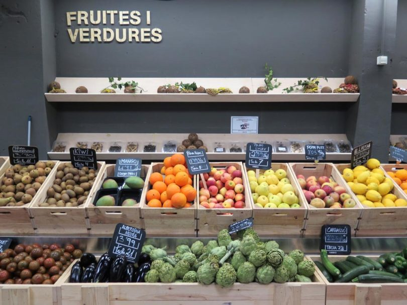 healthy food in Barcelona