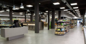 inside obbio organic supermarket