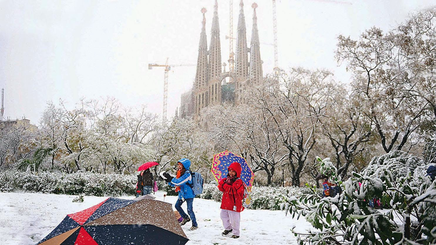 Discover The Natural Beauty Of Barcelona In Winter