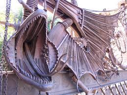 El Drac de Gaudi at Finca Güell
