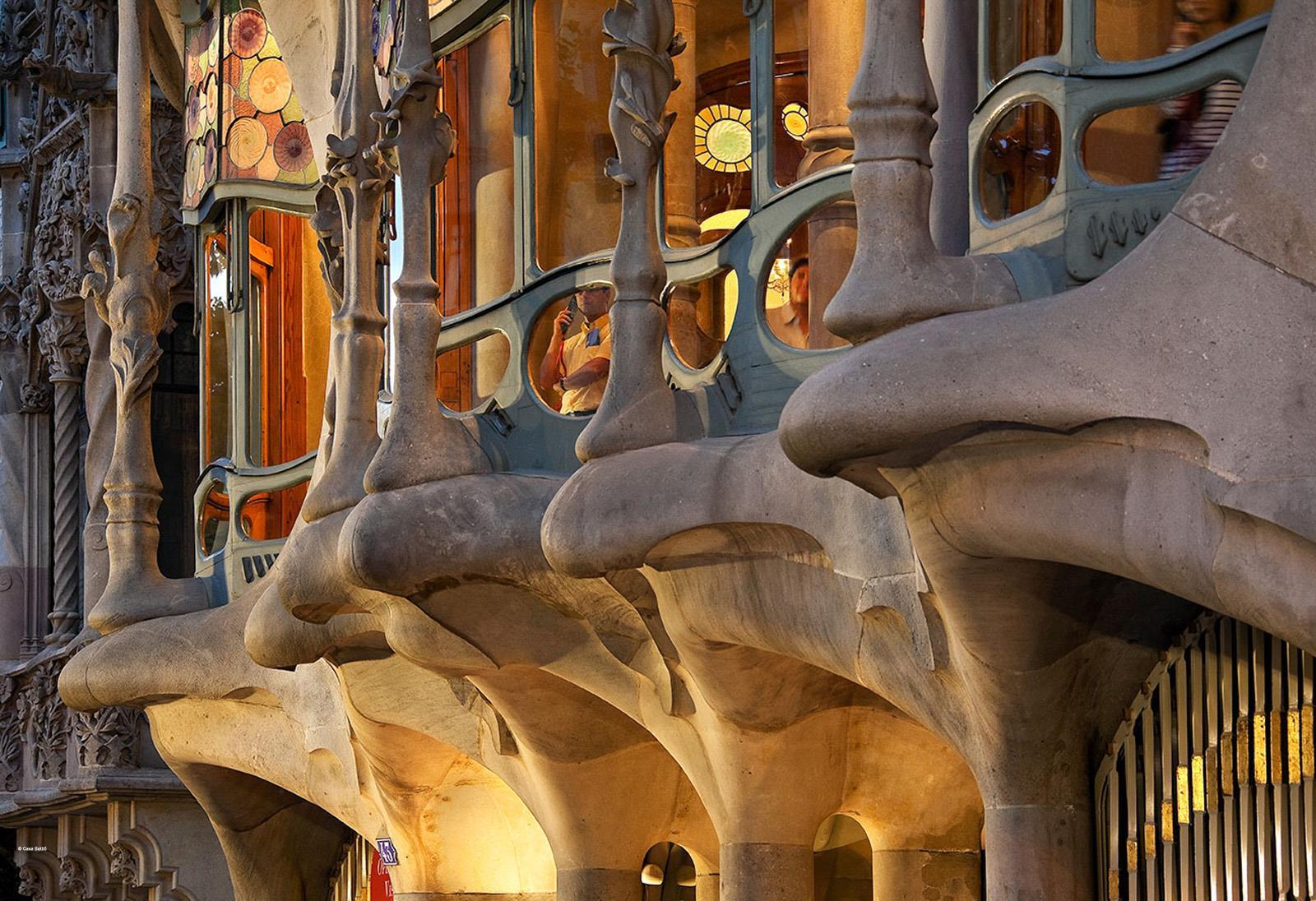 Antoni Gaudi Marine Life