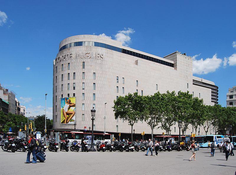 Pla a de catalunya the centre of barcelona - El corte ingles joyeros ...