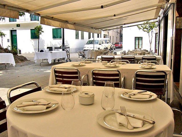 Restaurant, fruits de mer, crutacés, Barcelone