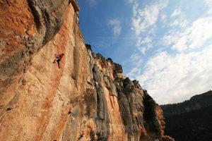 rock climbing siurana