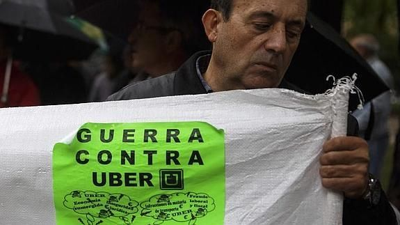 Taxi vs. Uber: Capitalism meets the Spanish taxi industry