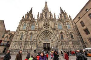 Spain-Barcelona-Gothic-Quarter-Cathedral-Neo-Gothic