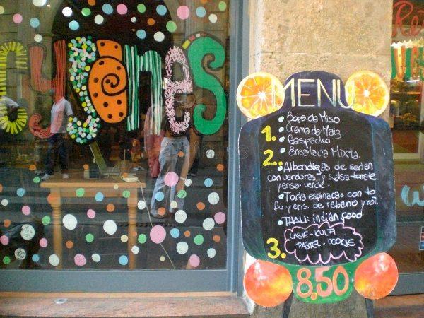 Juicy Jones vegan restaurant in Barcelona