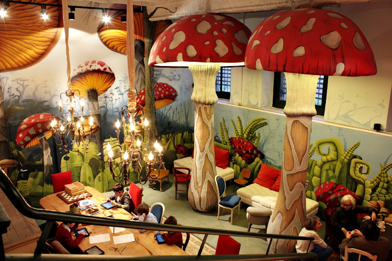 Restaurants and cafes to go with children in barcelona for Kids restaurants