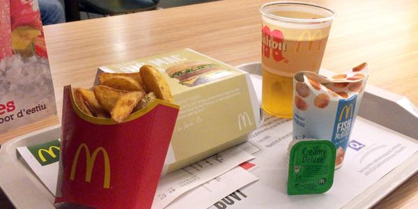 Why McDonalds in Barcelona is much better than in America