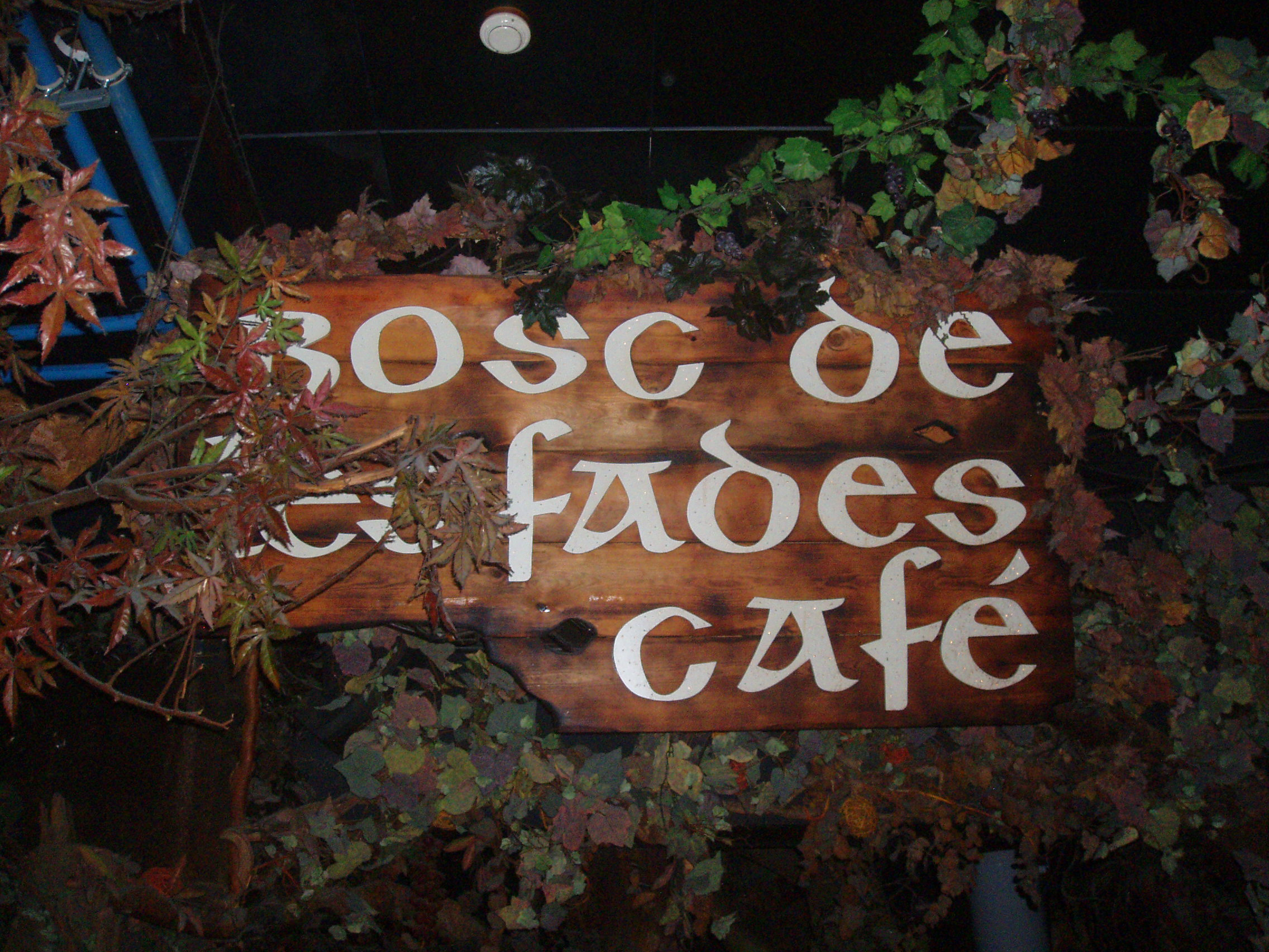 Drinking with fairies at El Bosc de les Fades