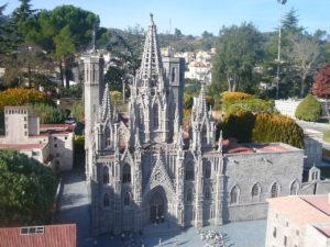 Barcelona miniature