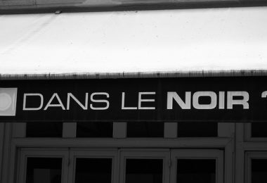 Dining in the dark at Dans Le Noir