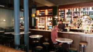 inside cocktail bar