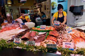 seafood market barcelona