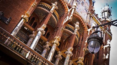 exterior palau de la musica barcelona