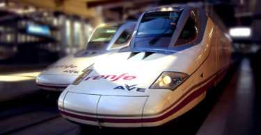 Barcelona-Madrid by train