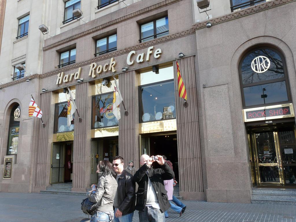 Hard Rock Caf Ef Bf Bd Barcelone Menu