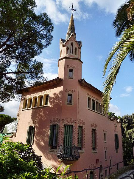 Casa Museo Gaudi.Casa Museu Gaudi In Barcelona