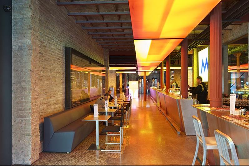 Renovated spaces in barcelona - Moritz ronda sant antoni ...