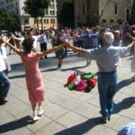 Sardana, a traditional Catalan dance