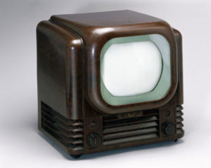 very old tv