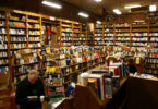 inside bookstore