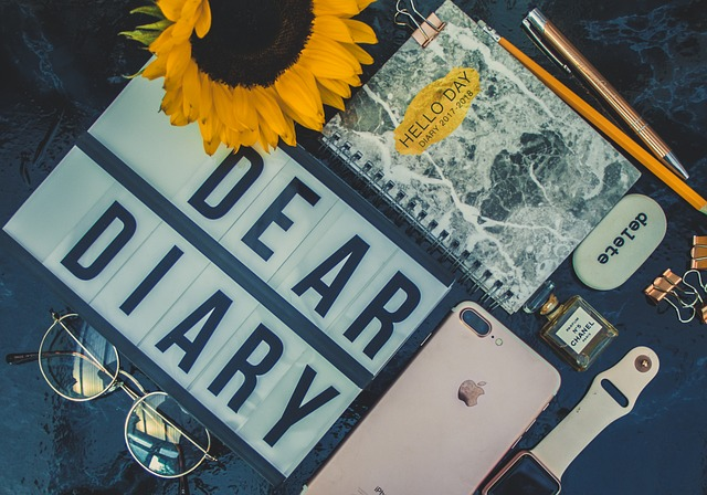 diary with other stuff