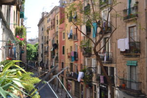 barcelona, building, city