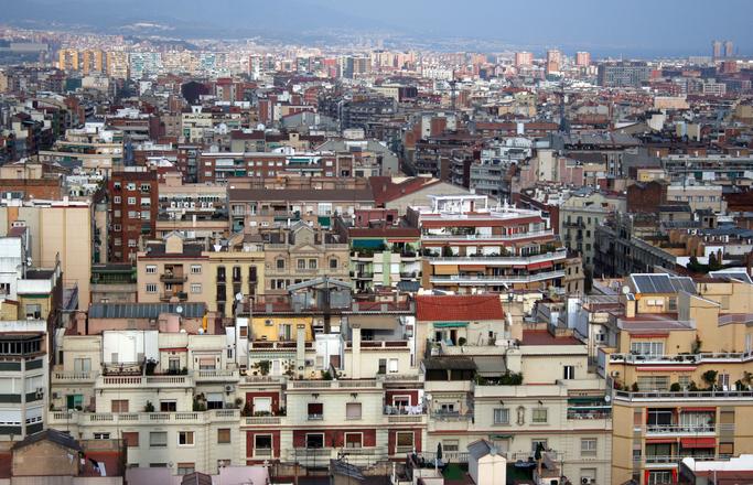 views over Barcelona