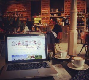 interior federal cafe