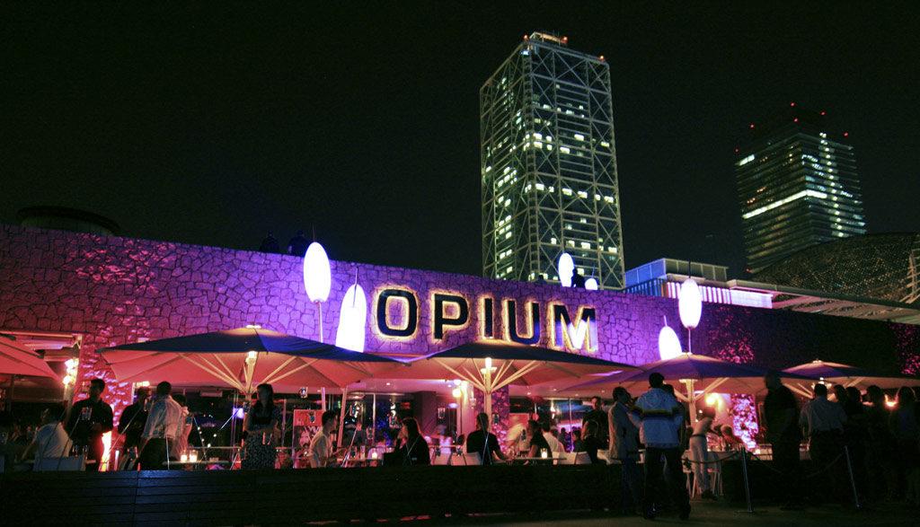 opium, nightlife barcelona