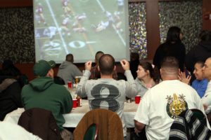 Watching Super Bowl in Barcelona